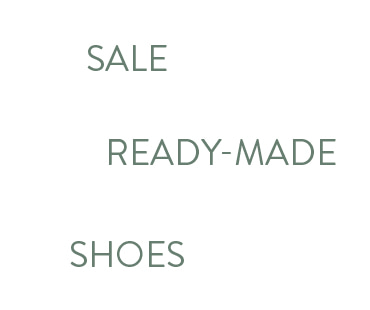 fitting shoes SALE (ready-made shoes)
